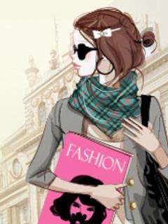 Fashion Girl 1 W593